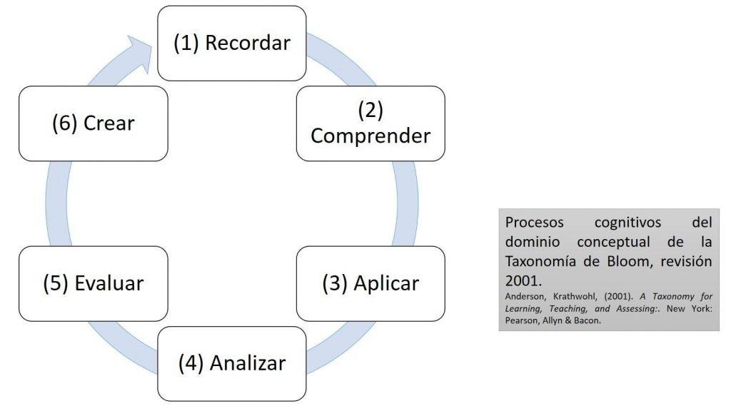 Procesos Cognitivos Bloom 2001